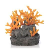 Reef One Biorb Samuel Baker Lava Rock With Fire Sculpture Small Ornament Flow